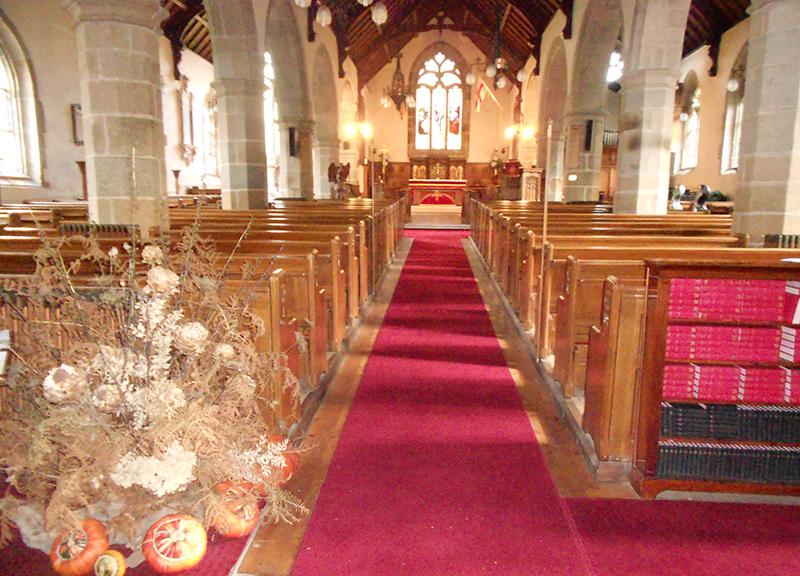 St Pierre du Bois Church Interior