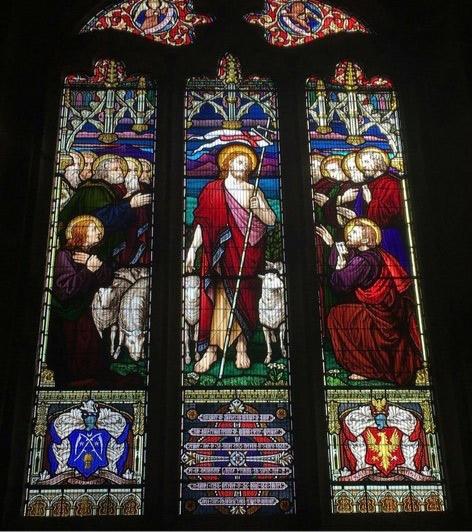St Pierre du Bois Church Window