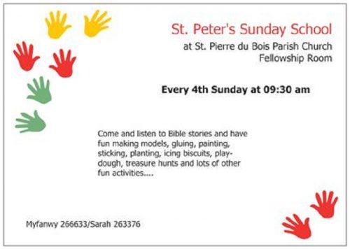St Pierre du Bois Sunday School